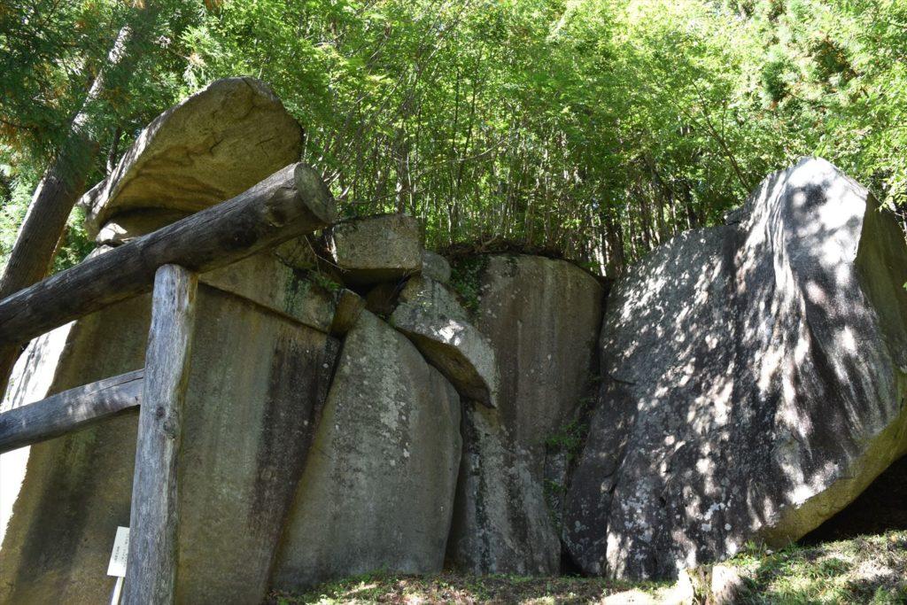 葛尾村の磨崖仏